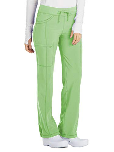 ca0a398fc36 Cherokee Women's Infinity Low-Rise Straight Leg Drawstring Pant ...