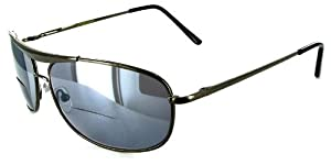 """Mach 5"" Bifocal Sunglasses with Aviator Design for Youthful and Active Men and Women"