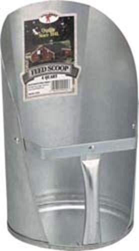 Little Giant 4-Quart Galvanized Feed Scoop