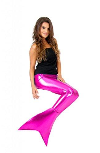 Mermaid Tail Pink Fin Costume (XXL)