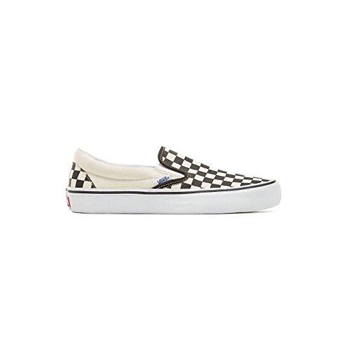 Vans Slip-On Pro (Checkerboard Black/White) Men's Skate Shoes-8.5