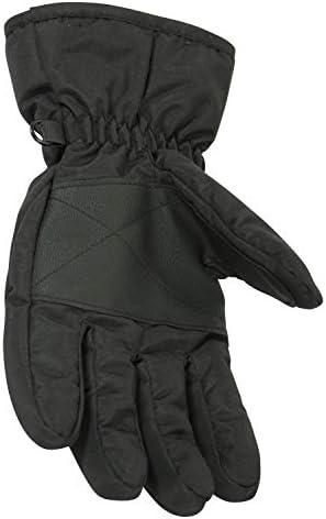 Mountain Warehouse Kids Ski Gloves Snowproof Boys /& Girls Ski Glove Fleece Lined Great To Keep Hands Warm