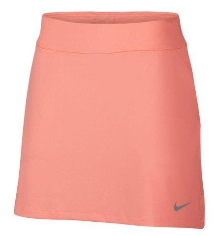 Nike Dri Fit Knit 16.5in Golf Skort 2018 Women Light Atomic Pink/Flat Silver X-Small