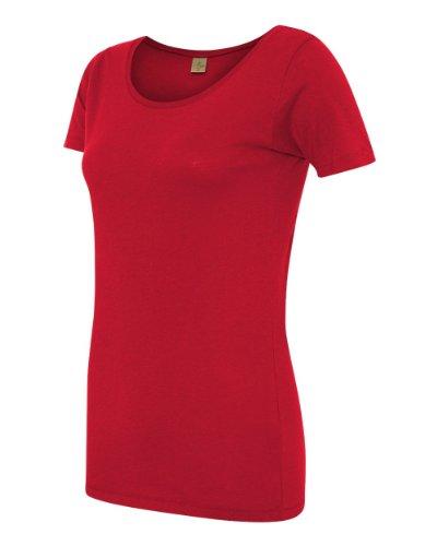 Alternative Ladies' 3.5 Oz. Organic Scoop Neck, Earth Red, Medium