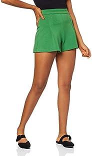 Shorts Evasê, Forum, Feminino, Verde mystic, 38