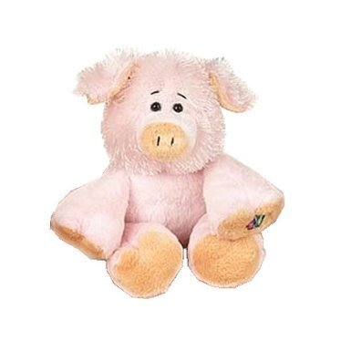 Webkinz Pig 1st Edition with No Magic W - New with Sealed Tag and Unused Code