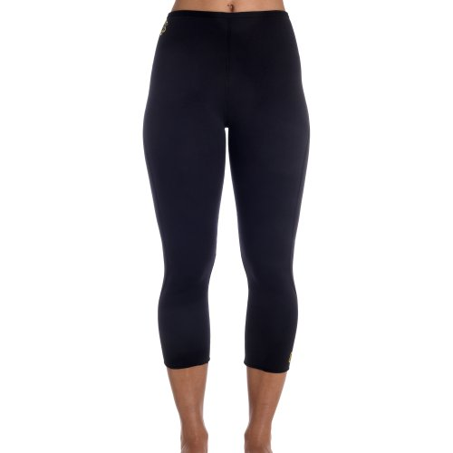 Zaggora Hot Pants Capri Black The Original Hot Pants Leggings