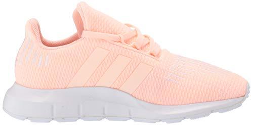 adidas Originals Baby Swift Running Shoe, Clear Orange/Weiss-Schwarz/White, 4K M US Toddler by adidas Originals (Image #6)