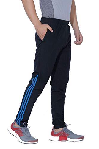 FINZ Men's Polyester Cotton Mix Lycra Lower Trackpants/Gymwear/Nightwear/Loungewear/Sports