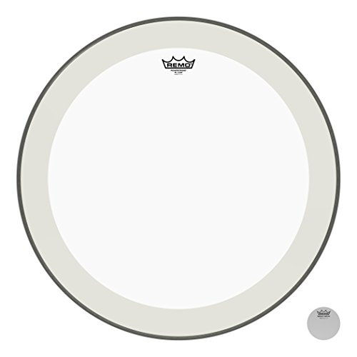 Remo Powerstroke P4 Clear Bass Drumhead, 24