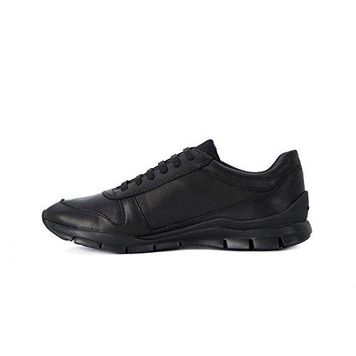 Sukie D Schwarz B Damen Geox Sneakers a5qwgR