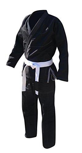 Your Jiu Jitsu Gear Brazilian Jiu Jitsu Premium Uniform A4 Black With Contrast