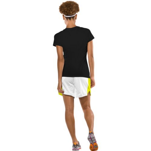 Under Armour Women's Tech S/S Tee, Black/Silver XS (US 0-2) by Under Armour (Image #5)