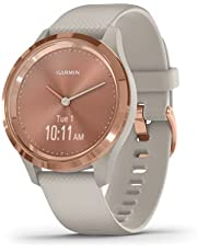 Garmin Vívomove 3S, Hybrid Smartwatch with Real Watch Hands and Hidden Touchscreen Display