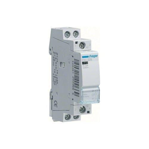 Hager esd225s –  Contacteur Silencieux 25 A 2 Na 24 V courant alternatif/courant continu