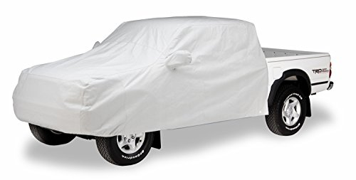 Covercraft C18006GK A great way to protect the pickup cab area from heat sun and snow. Custom patterned for a perfect fit cab area covers fit between the cab and pickup bed. Truck Cab Top Cover Covercraft Custom Cab Area Cover - Evolution Gray ()
