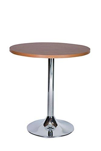 Netfurniture Ramizon Oak grande tavolo rotondo da cucina tavolo da ...