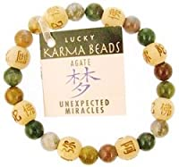 Lucky Karma Bracelet with Agate for Unexpected Miracles By Zorbitz