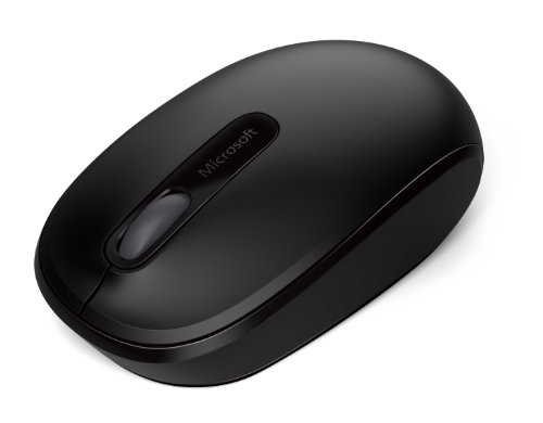 Microsoft Wireless Mobile Mouse 1850 - Black (U7Z-00001) by Microsoft