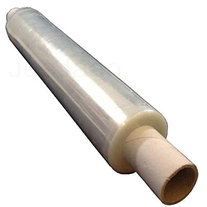 Clear Heavy Duty Shrink Wrap Film Pallet Stretch Wrapper 400mm x 34 Micron Extended Core JeeJaan/® 1