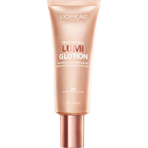 L'Oreal Paris Makeup True Match Lumi Glotion Natural Glow Enhancer Highlighting Lotion (Best Foundation Radiant Glow)