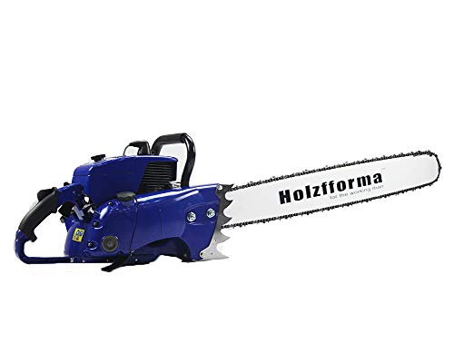 """105cc Holzfforma Blue Thunder G070 Gasoline Chain Saw Power Head WT 36"""" Guide Bar .404 .063 104 DL Guide Bar and .404 .063 36"""" 104 DL Saw Chain All Parts are Compatible WT 070 090 Magnum Chainsaw"""