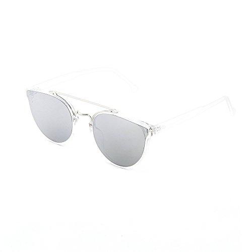Plata de mujer Transparente espejo sol degradadas Gafas CARTESIO TWIG hombre zd0Sgqw