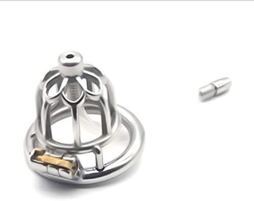 Pllxq 医療メタル男性貞操ロック付きカテーテルCb6000sアダルトインタレスト代替アンチオナニー玩具絶妙な、美しいです (Size : 50mm)