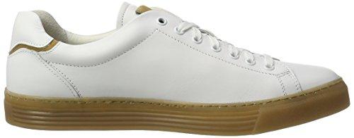 Camel Active Bowl 19, Zapatillas para Hombre, Blanco (White/Cord 02), 46 EU
