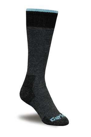 (Women's Mid-Calf Outdoor Socks, Charcoal, 1)