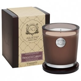 - Aquiesse Portfolio Collection Large Candle - French Oak Currant (10 oz)