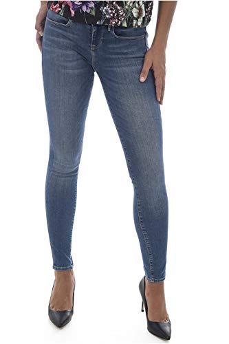Skinny Les Jegging Bleus Jeans Guess Basse Taille W83a27 z5WndnZ
