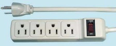 Four Outlet Power Strip
