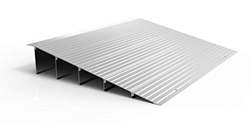 (EZ-ACCESS TRANSITIONS Modular Aluminum Entry Ramp, 6