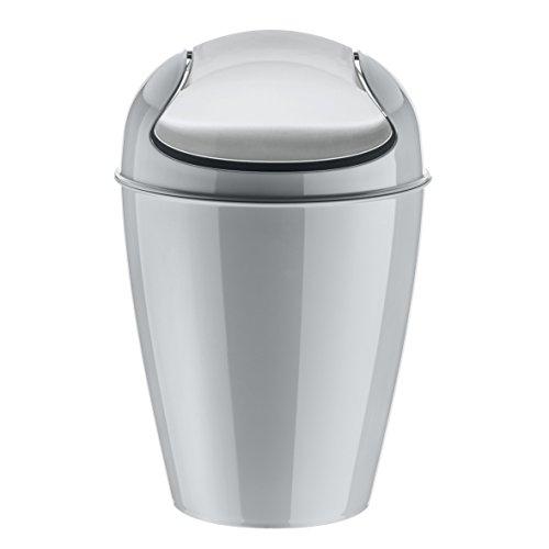 Koziol 5775632 DEL M Swing-Top 12 L Wastebasket