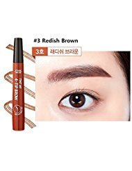 Etude House Tint My 4 Tip Brow (2g) 2017 New (#3 Redish Brown)