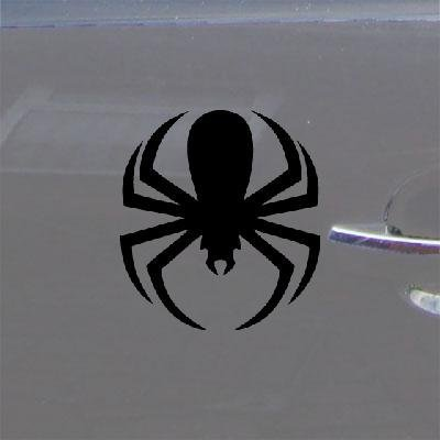 CAR DECAL STICKER BIKE ADHESIVE VINYL DIE CUT BLACK VINYL LAPTOP SPIDERMAN SPIDER NOTEBOOK HELMET HOME DECOR CAR DECOR WALL ART WINDOW MACBOOK by reprowiwi