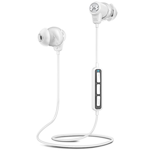 JBL Under Armour Wireless Headphones with Three-Button Remote and Microphone (White) ()