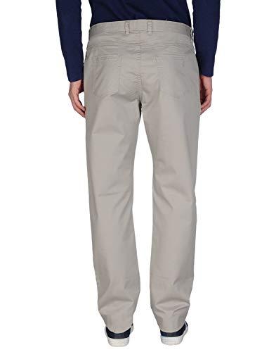 Regular Jeans Fit Alta Di Taglia Modello In Uomo Con Gamba Elasticizzati Estivi Pantaloni Geox Dritta Grigi Cotone Vita 52 A Colore BqIpxznv