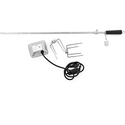 Blaze Rotisserie Kit for 32-inch Charcoal & 4-Burner Gas Grills - Blz-34-rotis-ss ()