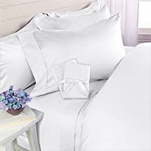 Egyptian Bedding Luxurious HARD-TO-FIND Organic 100% Viscose from BAMBOO Duvet Set - Queen Size White 800 Thread Count Cotton Duvet Cover Set - Includes 1 Duvet Cover and 2 Pillow Shams