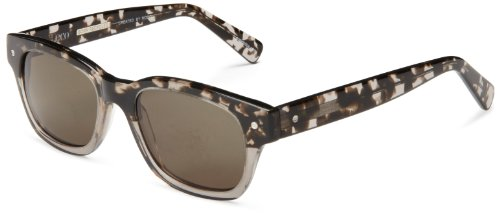 eco Vail Rectangular Sunglasses, Grey & Tortoise, 51 mm by EcoPure