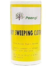 Poongi Floor Sweeper Dry Wipes