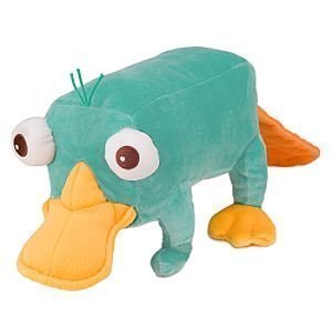 (Disney Phineas and Ferb - Plush Mini Bean Bag Toy - 10