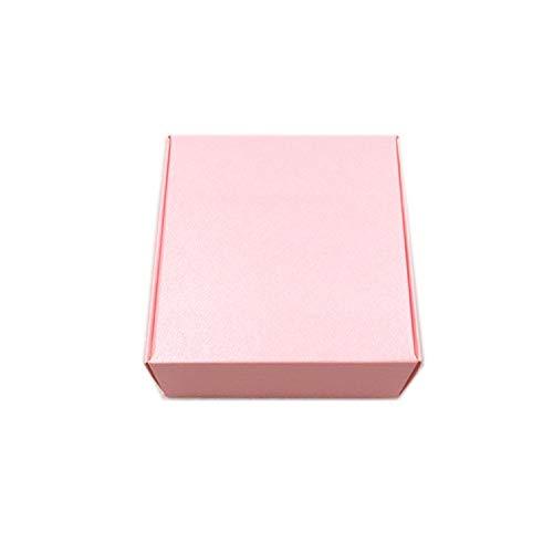 50 Pcs 656530 mm Kraft Paper Aircraft Gift Boxes Handmade Soap Packing Box Jewelry/Cake/Handicraft/Candy Storage Paper -