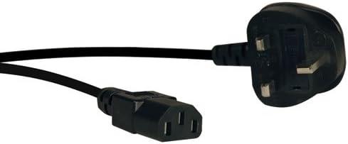 TRIPP LITE P056-006-10A Standard Computer Power Cord IEC-320-C13 to BS-1363 UK Plug 10A