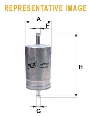 WIX FILTERS WIXFILTERS WF8463 Fuel Injectors: