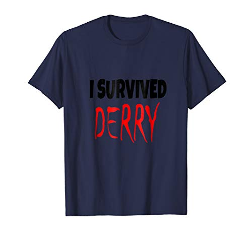 I Survived Derry Halloween Costume Fun T-shirt for $<!--$17.99-->
