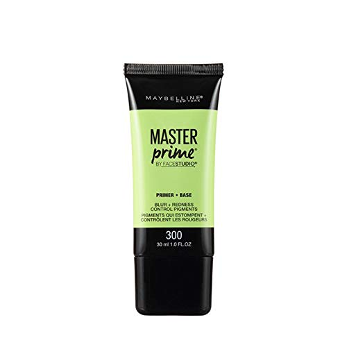 - Maybelline New York Face Studio Master Prime Primer, Blur + Redness Control, 1 Fluid Ounce