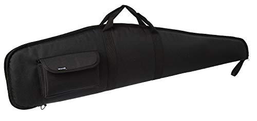 (SUNLAND 44/48/52 Inch Rifle Case with Adjustable Shoulder Shotgun Case for Scoped Rifles (Black, 44))